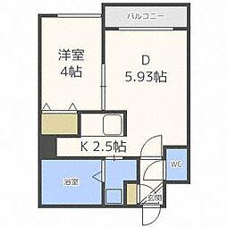 AZURE24[2階]の間取り