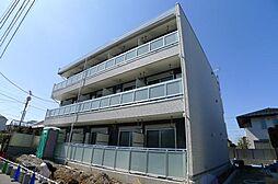 千葉県柏市明原3の賃貸マンションの外観