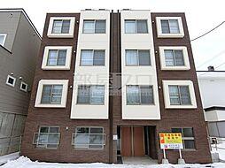 北海道札幌市北区北三十七条西7丁目の賃貸マンションの外観
