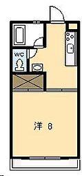 ピュアコート清武[102号室]の間取り