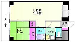 三谷ビル[4階]の間取り