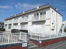リバーサイドハイツB棟[2階]の外観