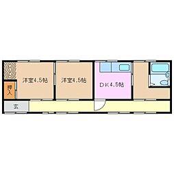 [一戸建] 三重県亀山市栄町 の賃貸【/】の間取り