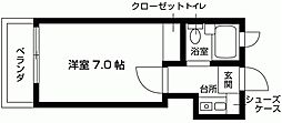 スペースイン笠寺[106号室号室]の間取り