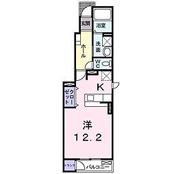 デフィⅡ[1階]の間取り