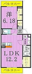 studio 115[103号室]の間取り
