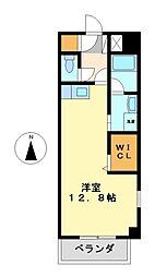 メゾンドプランタン[6階]の間取り
