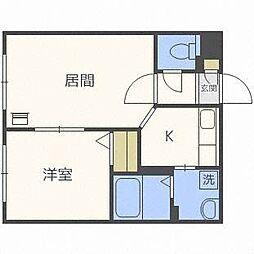 栄通銀座パレス[1階]の間取り
