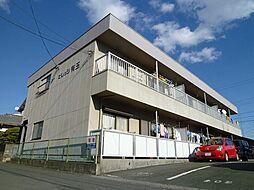 静岡県浜松市東区有玉西町の賃貸マンションの外観