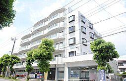 埼玉県越谷市東大沢5丁目の賃貸マンションの外観