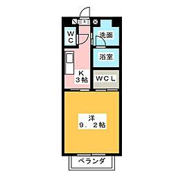 S・K松阪[2階]の間取り