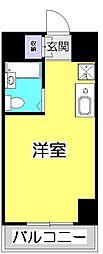 ヒルハウス コンフォートI[5階]の間取り