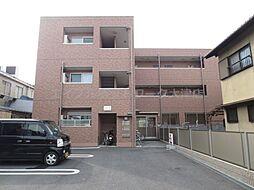 滋賀県大津市際川3丁目の賃貸アパートの外観