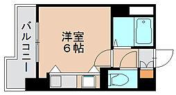 モアフィールド箱崎2[3階]の間取り