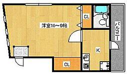 リッチハウス[1階]の間取り