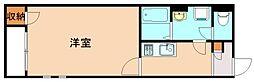 クレイノ伊岐須[1階]の間取り