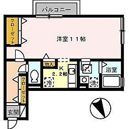 サンライトS[2階]の間取り