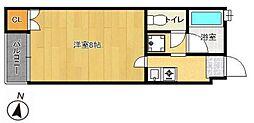 PLEAST姪浜III[1階]の間取り