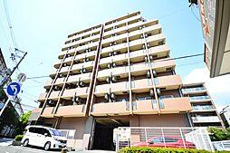 大阪府大阪市阿倍野区松崎町4の賃貸マンションの外観