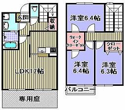 [タウンハウス] 大阪府岸和田市尾生町4丁目 の賃貸【/】の間取り
