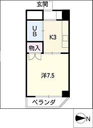 ラ・メゾン藤ケ丘[3階]の間取り