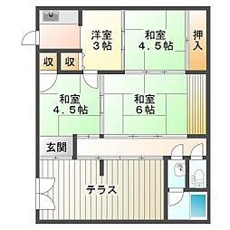 [一戸建] 兵庫県神戸市垂水区陸ノ町 の賃貸【/】の間取り
