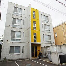 北海道札幌市白石区南郷通15丁目の賃貸マンションの外観