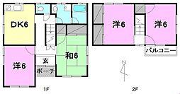 [一戸建] 愛媛県松山市久万ノ台 の賃貸【/】の間取り
