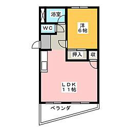 相生レジデンス[2階]の間取り
