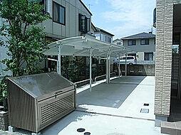 サンボナール[1階]の外観