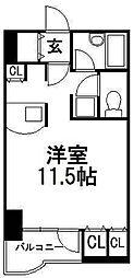 北海道札幌市中央区南五条西10丁目の賃貸マンションの間取り