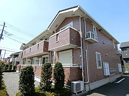 埼玉県越谷市大字大道の賃貸アパートの外観