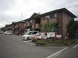 愛媛県松山市北土居4丁目の賃貸アパートの外観