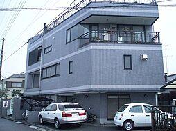 神奈川県横浜市鶴見区東寺尾東台の賃貸マンションの外観