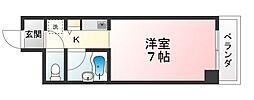 アノージュII[4階]の間取り
