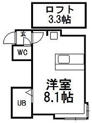 セレクト67[105号室]の間取り
