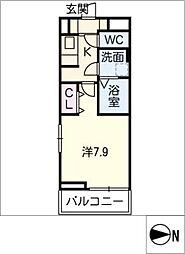シャイン コート カミサワ[3階]の間取り
