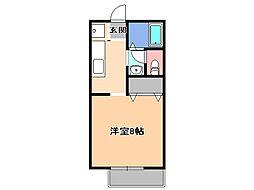 メゾン・ソレイユ[2階]の間取り