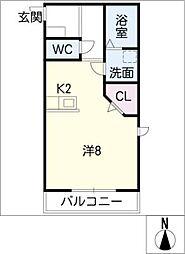 SNK[2階]の間取り