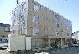 北海道札幌市豊平区西岡三条11丁目の賃貸マンションの外観
