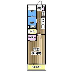 リブリ・武蔵野[3階]の間取り