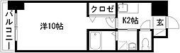 プチメゾン元浜館[3D号室]の間取り