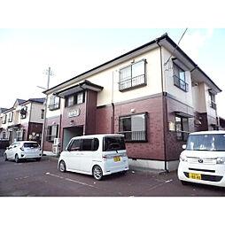 新潟県新潟市東区紫竹3丁目の賃貸アパートの外観
