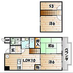 富士見台[5階]の間取り