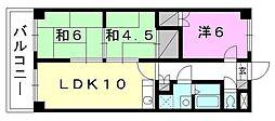 クオリティーハイツ尾崎[105 号室号室]の間取り