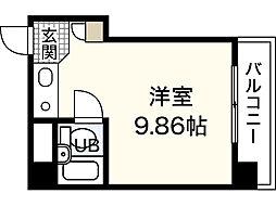 ビッグアップルビル[2階]の間取り