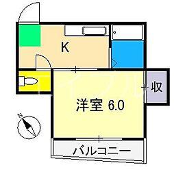 みちハウス[2階]の間取り