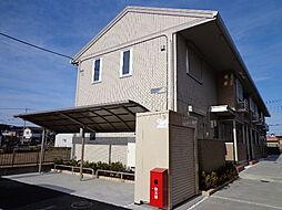 埼玉県北葛飾郡松伏町大字松伏の賃貸アパートの外観