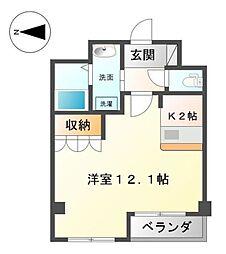 ロイヤルパレス渋谷[305号室]の間取り