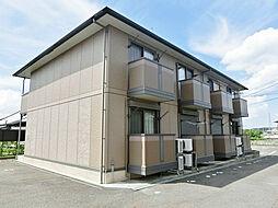 滋賀県蒲生郡日野町大字松尾の賃貸アパートの外観